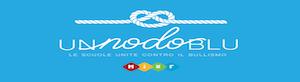nodo blu: logo ministeriale per la prevenzione ai fenomeni di bullismo e cyberbullismo. Il link rimanda alla pagina di progettazione del nostro Istituto